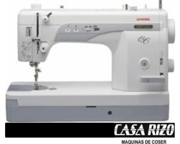 M quina de coser semi industrial janome 1600qcp casa rizo - Maquinas de coser ladys ...